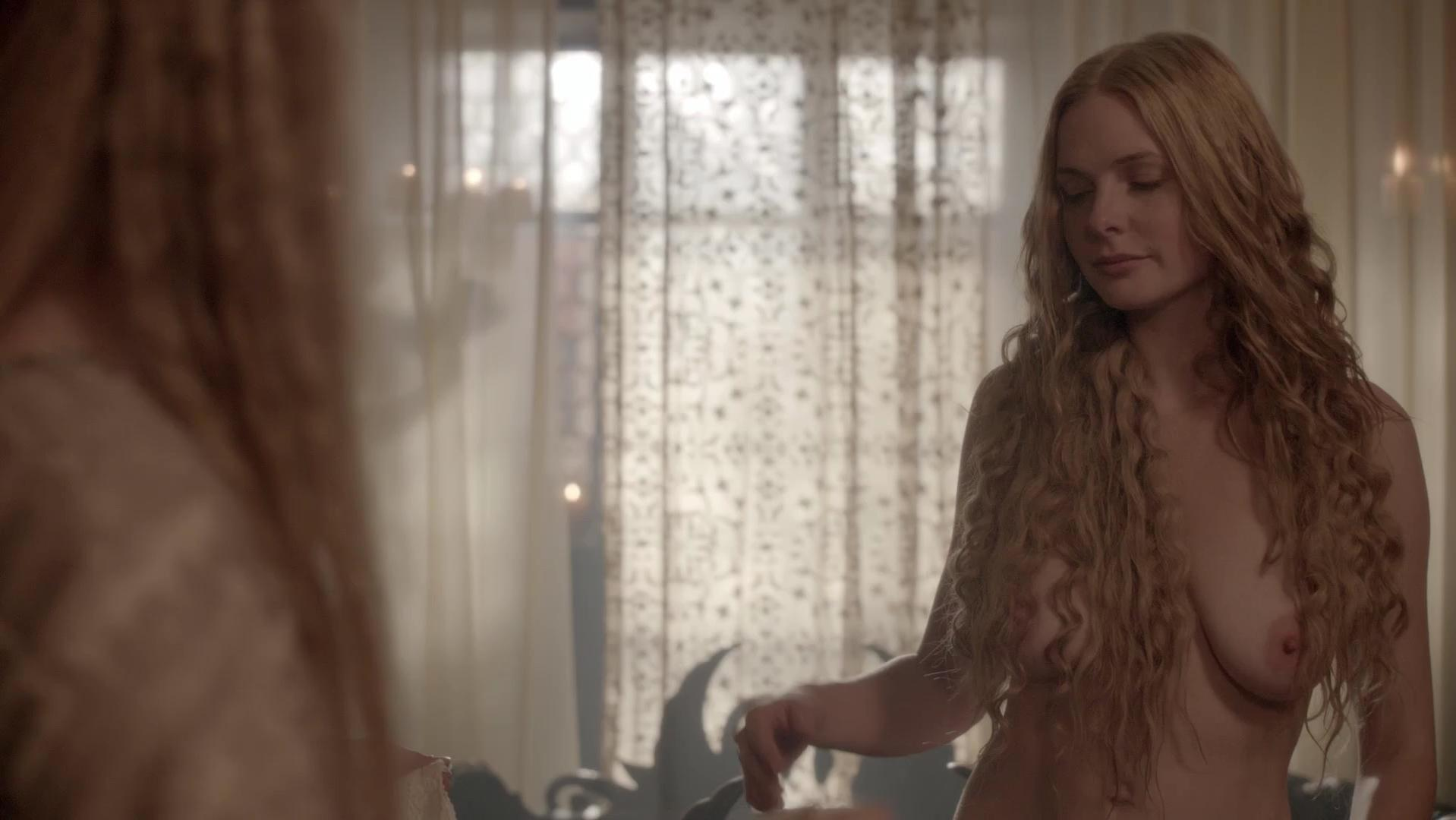 Rebecca Ferguson nude - The White Queen s01e02 (2013)