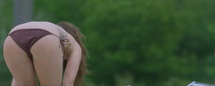 Briana Evigan sexy - Paranormal Island (2014)