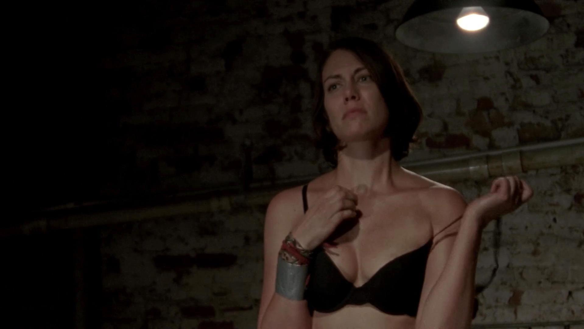 Nude woman intense orgasm