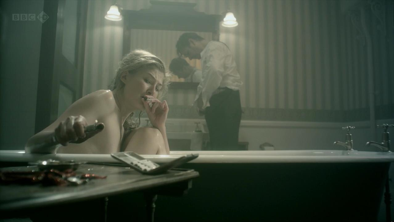 Rosamund Pike sexy - Women in Love part 1 (2011)