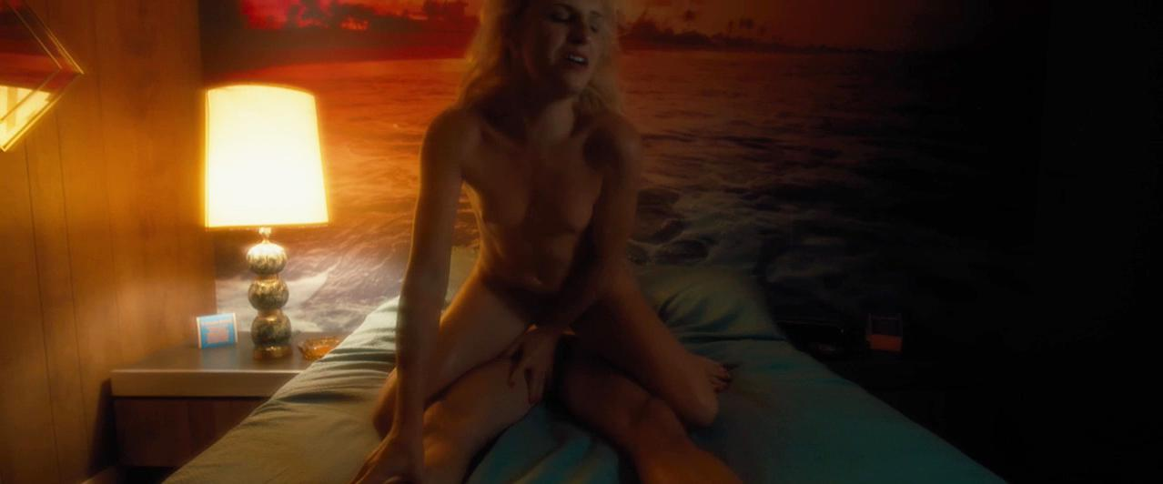 Addison Timlin sexy, Morganna Bridgers nude - The Town That Dreaded Sundown (2014)