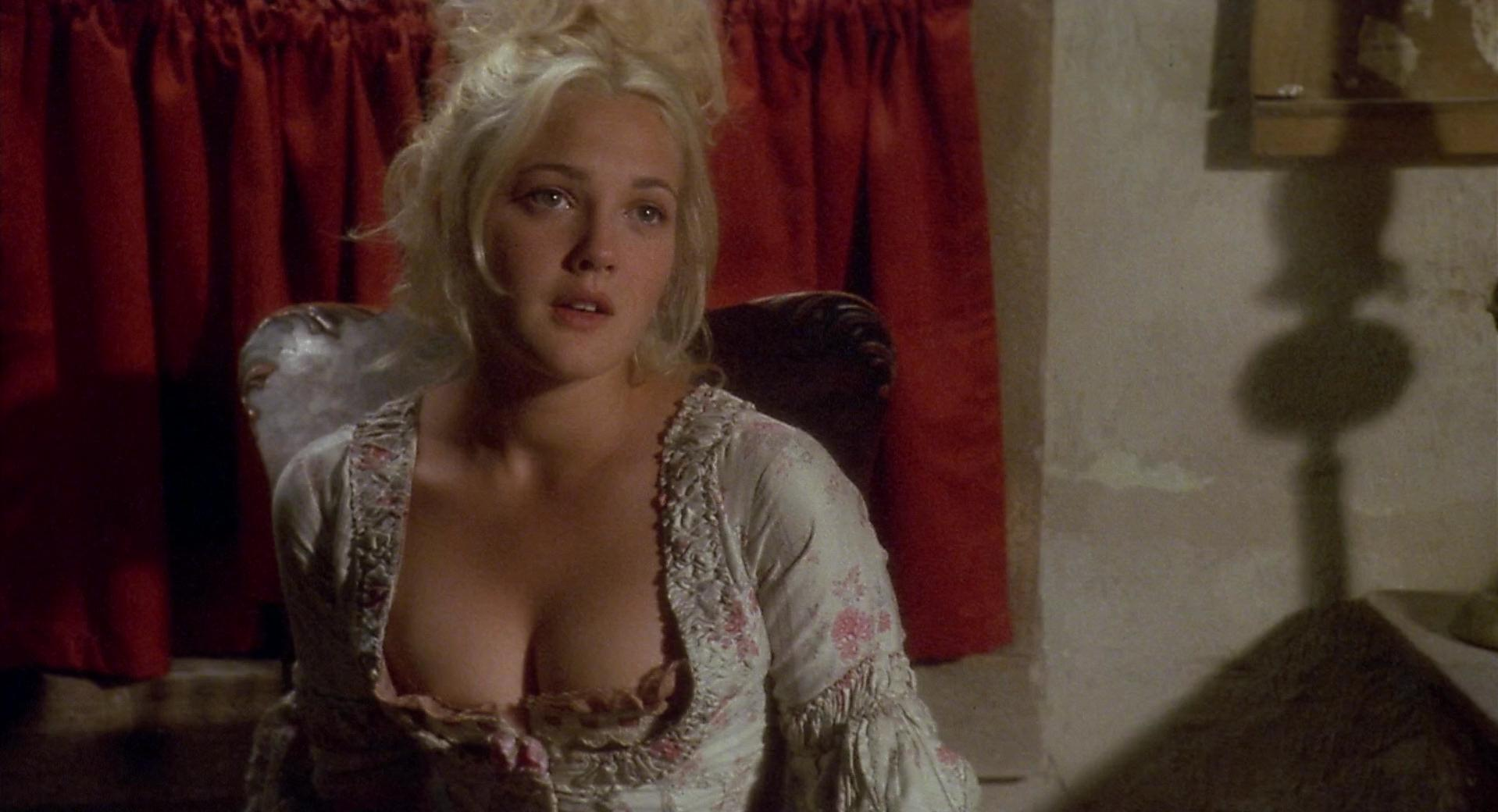 barrymore nude in movie