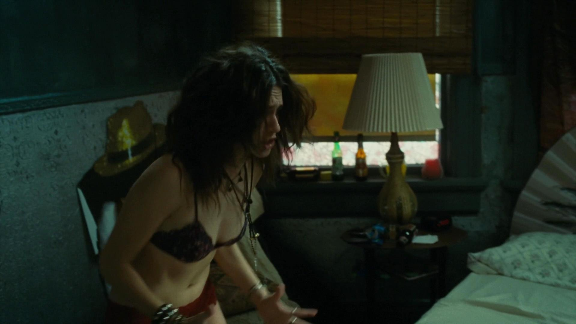 Emmy Rossum sexy, Hilary Swank sexy - You're Not You (2014)