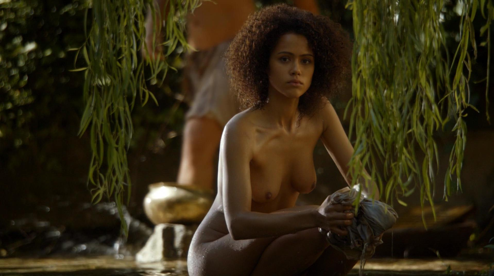 Nathalie Emmanuel nude - Game of Thrones s04e08 (2014)