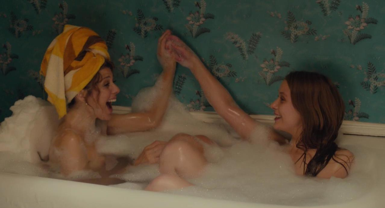 Marisa Tomei nude, Isabelle McNally nude - Loitering with Intent (2014)