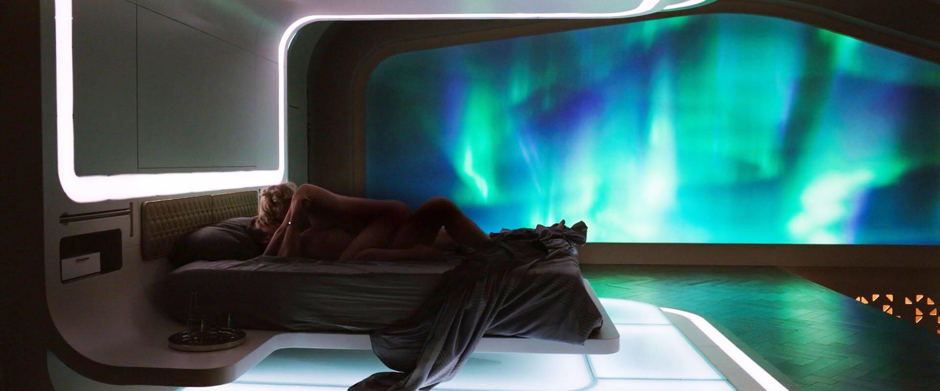 Nude Video Celebs  Jennifer Lawrence Sexy - Passengers 2016-9208