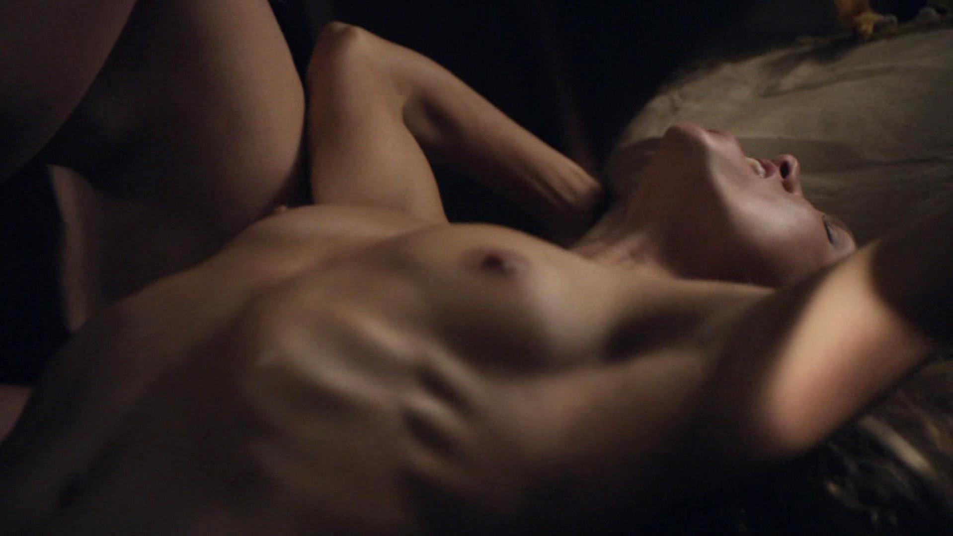 Nude Video Celebs  Ellen Hollman Nude - Spartacus S03E01-3835