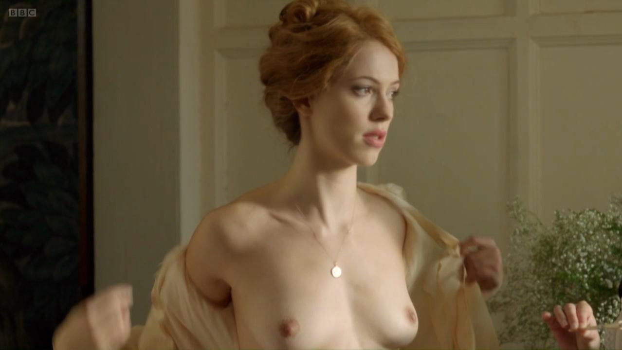 Rebecca Hall nude - Parade`s End s01e02 (2012)