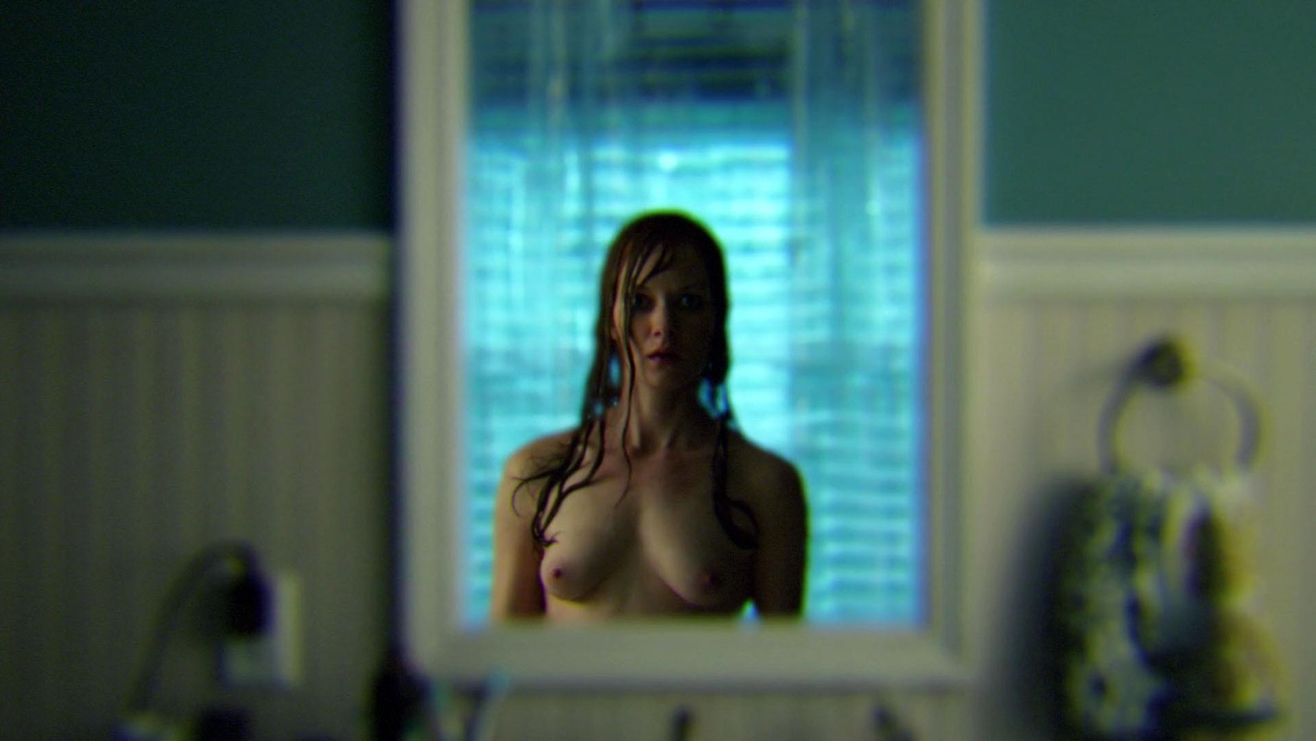 Wrenn Schmidt nude - Outcast s01e09 (2016)