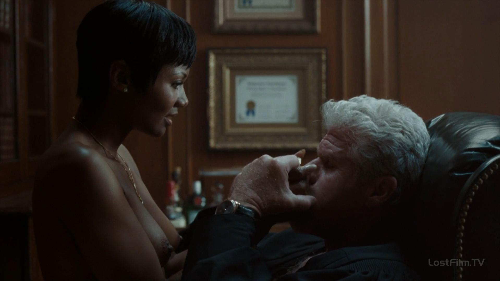 Emayatzy Corinealdi nude - Hand of God s01e01-08 (2014)
