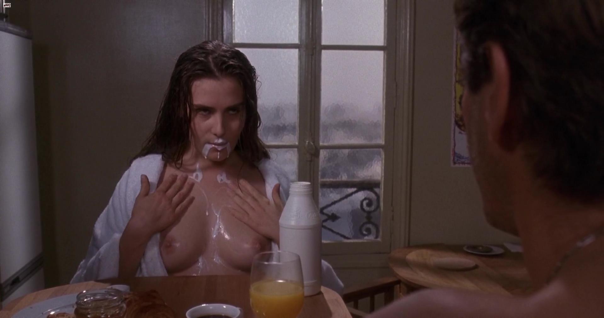 Emmanuelle Seigner nude - Bitter Moon (1992)