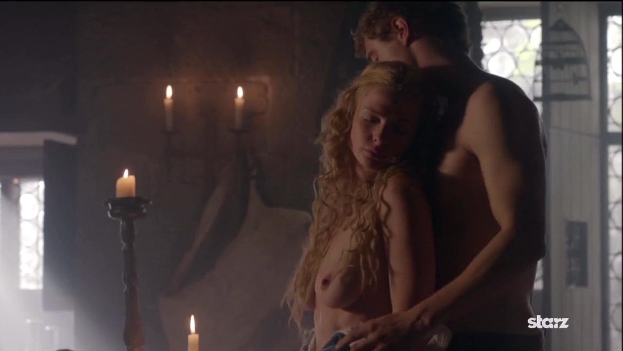 Rebecca Ferguson nude - The White Queen s01 (2013)