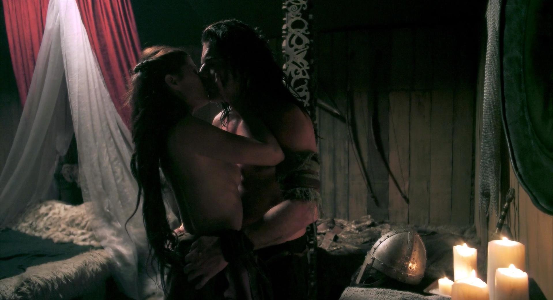 Natassia Malthe sexy - Vikingdom (2013)
