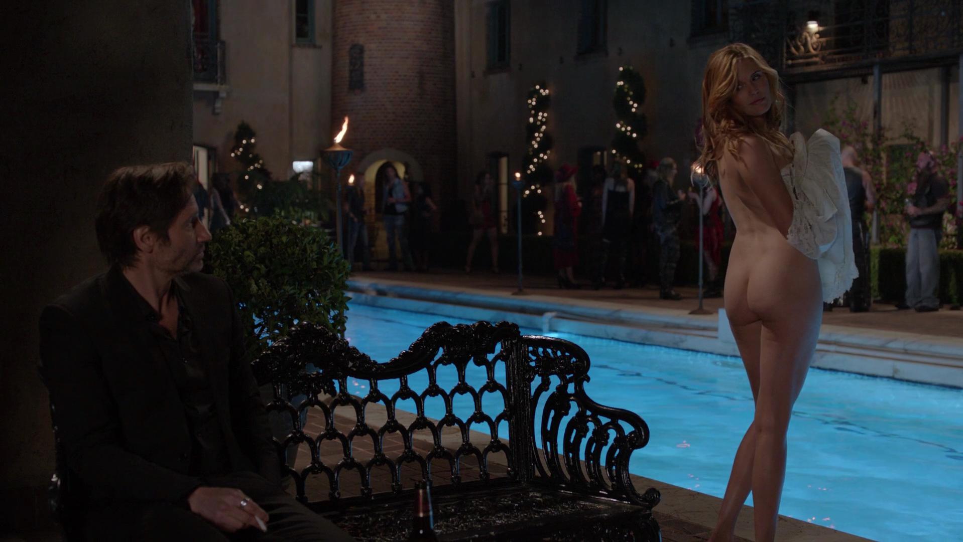 Camilla luddington nude scene in californication series scandalplanetcom