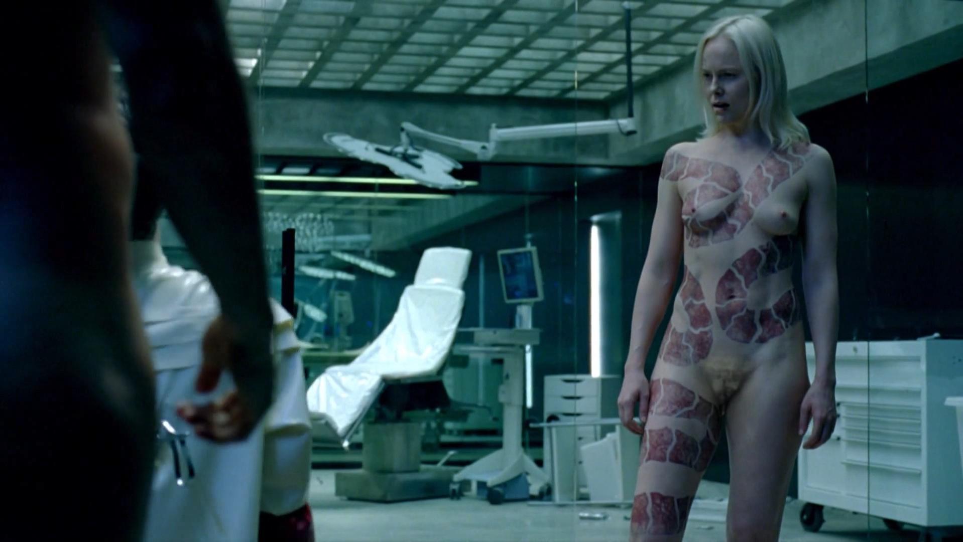 Ingrid Bolso Berdal nude - Westworld s01e10 (2016)