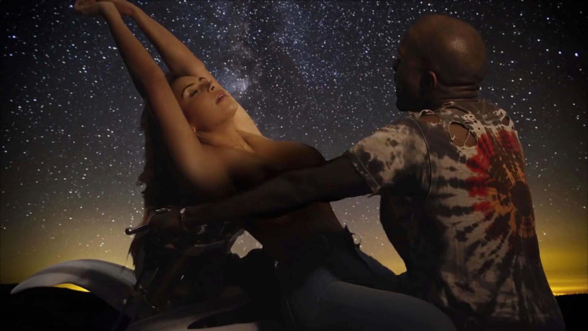 Nude Video Celebs  Kim Kardashian Nude - Bound 2 2013-2919