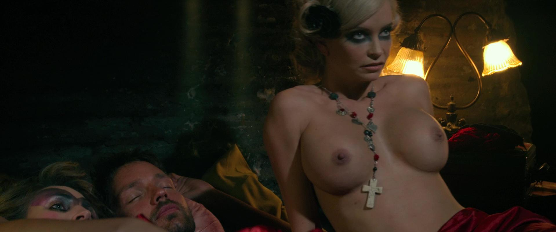 Christian Pitre sexy, Mindy Robinson nude - Bounty Killer (2013)