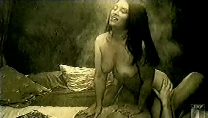 Emily Booth nude - Threesome: Memories (1999)