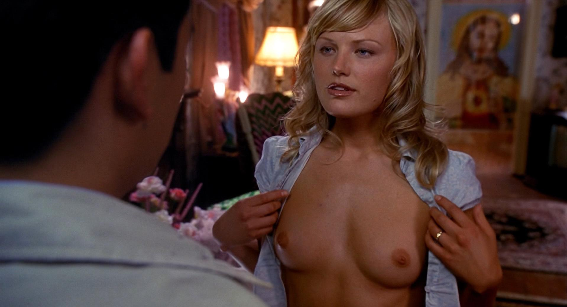 Malin Akerman nude - Harold and Kumar (2004)