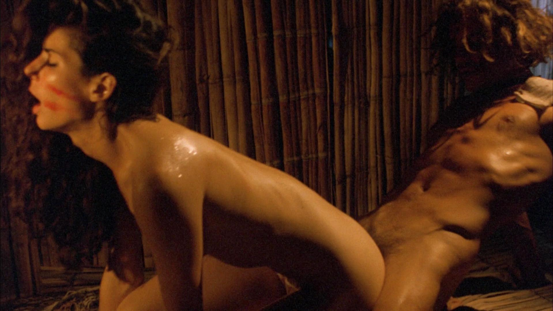 Sandra Bullock nude - Fire On The Amazon (1993)