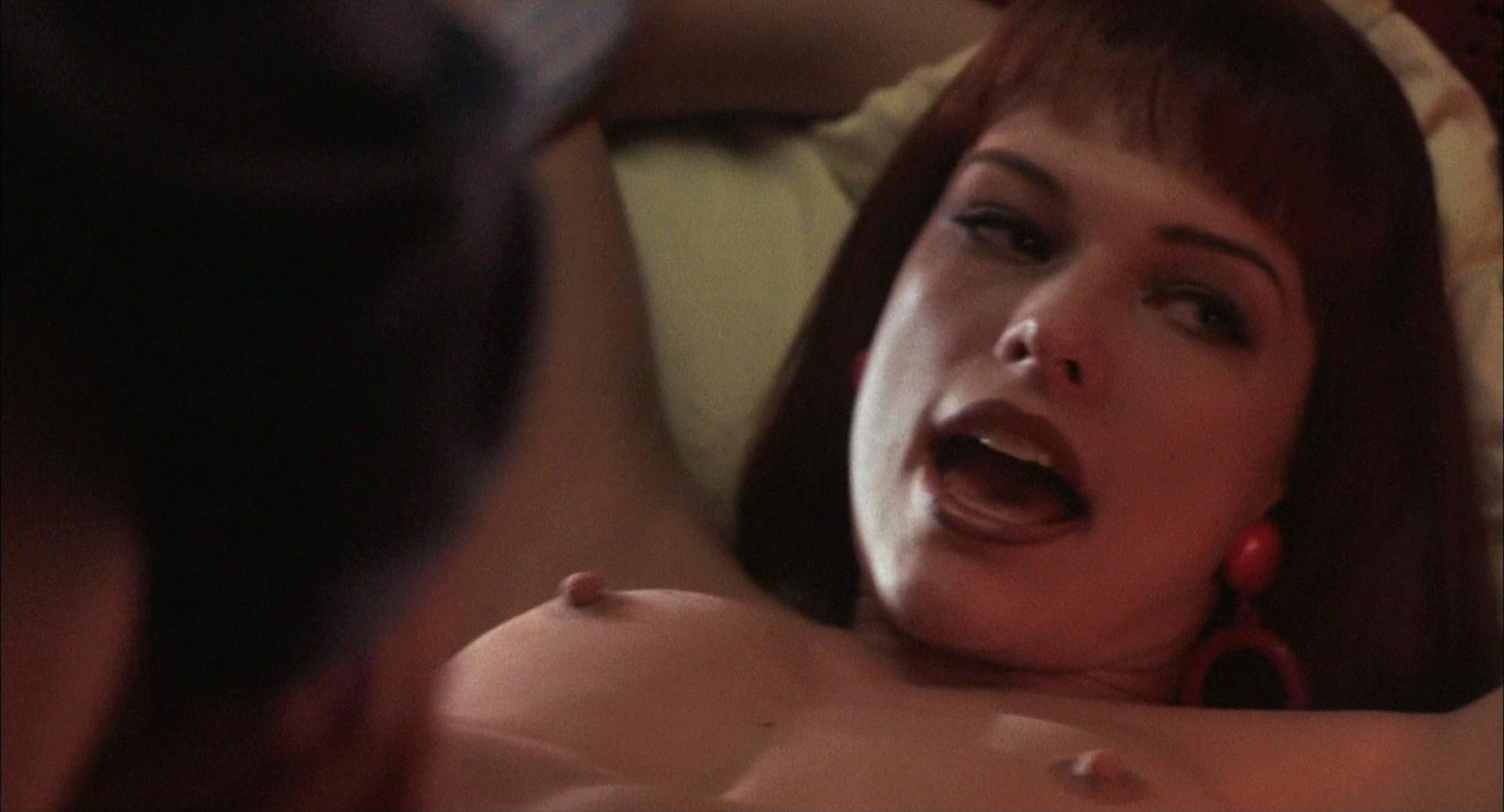 Jovovich sex scene