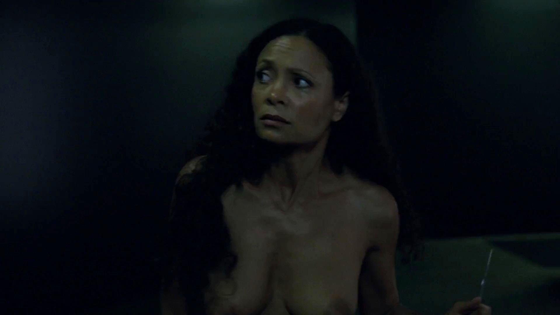 Thandie Newton nude - Westworld s01e02 (2016)