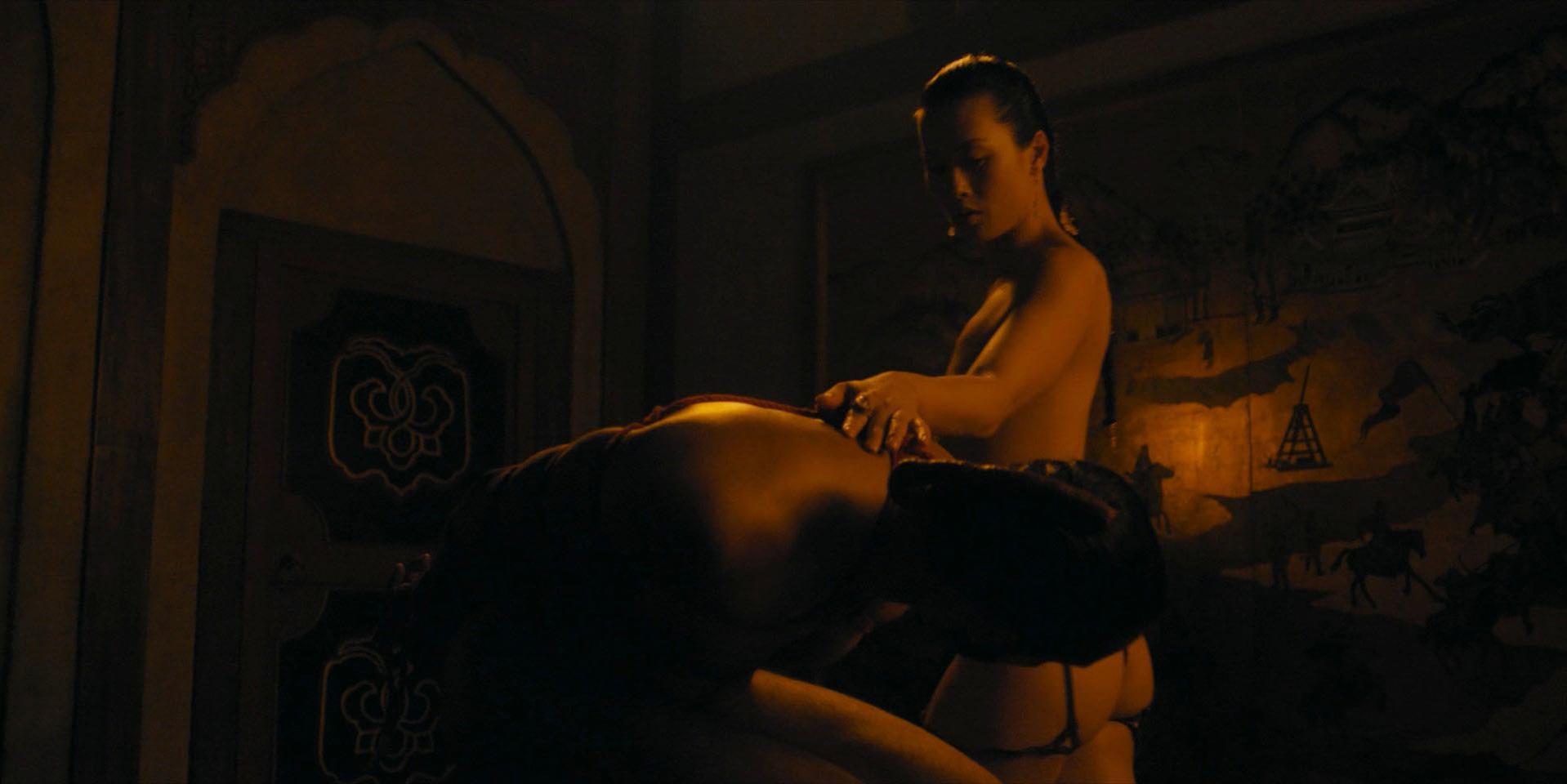 Olivia Cheng nude - Marco Polo s02e05 (2016)