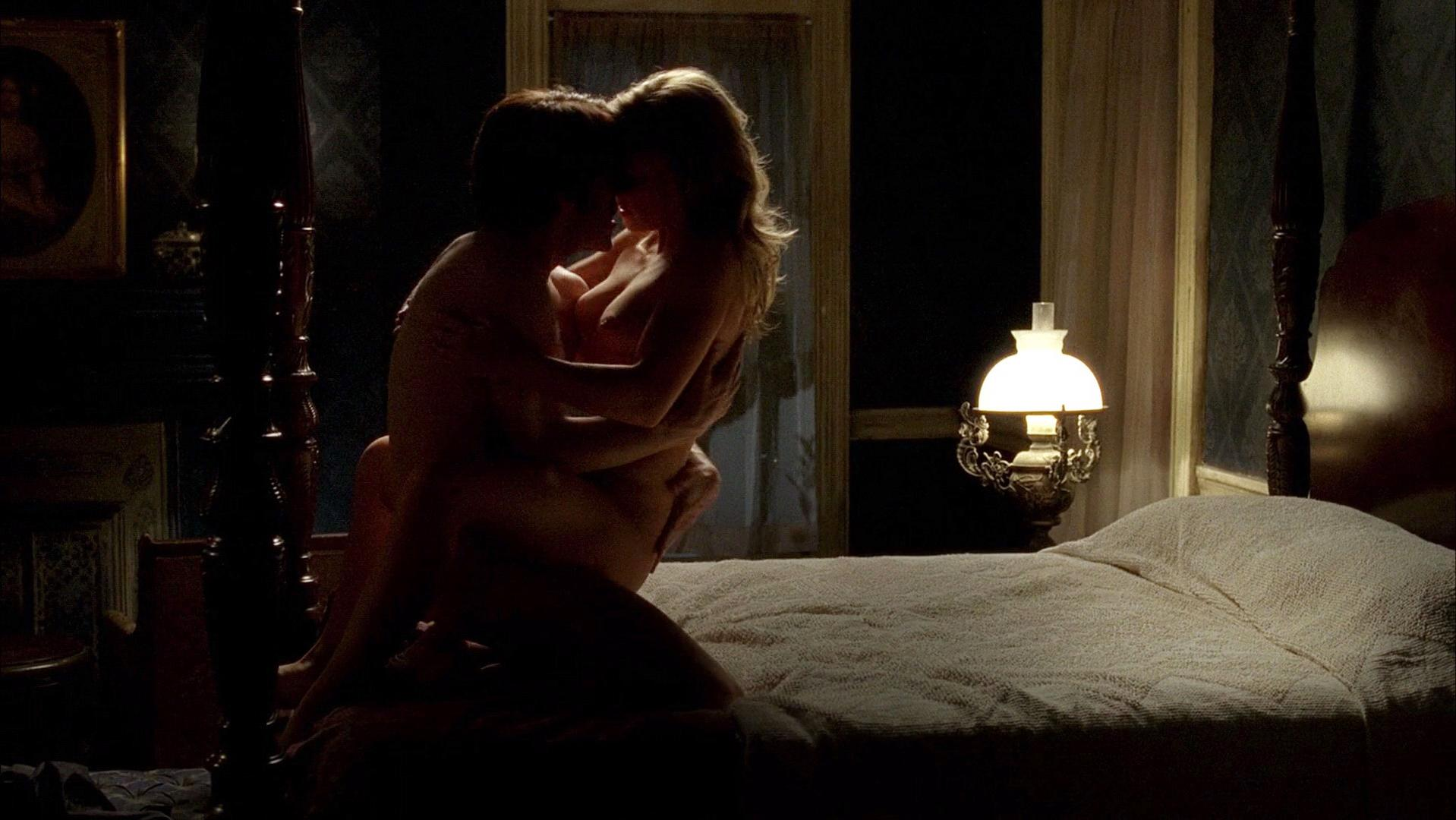 Anna paquin naked, sex scene for tv picture true blood