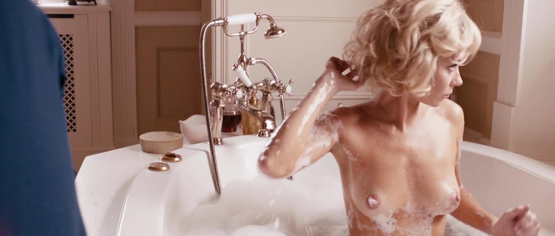 Anna Friel nude - The Look of Love (2013)