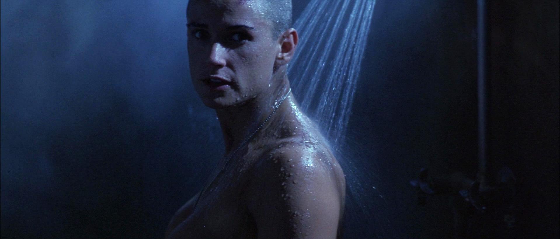 Nude Video Celebs  Demi Moore Nude - Gi Jane 1997-6498