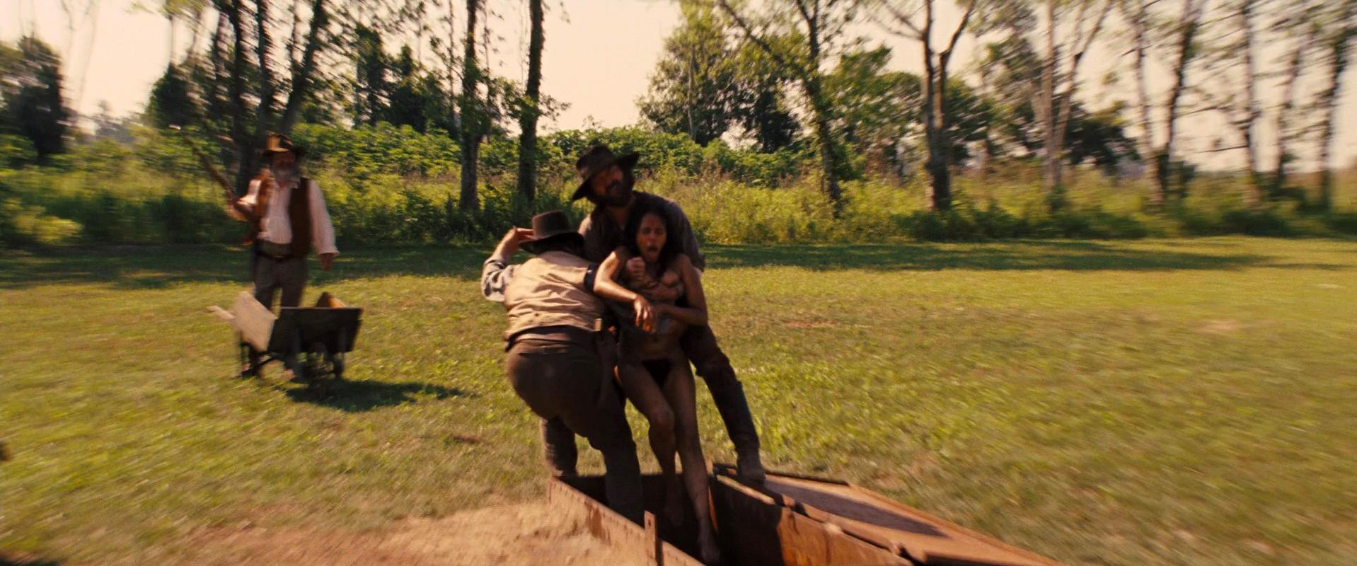 Kerry Washington nude - Django Unchained (2012)