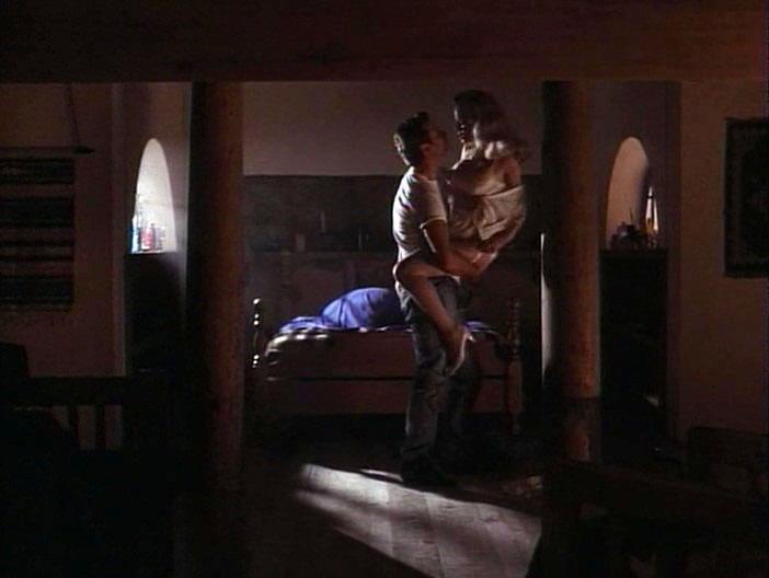 Kelly Preston nude - Double Cross (1994)