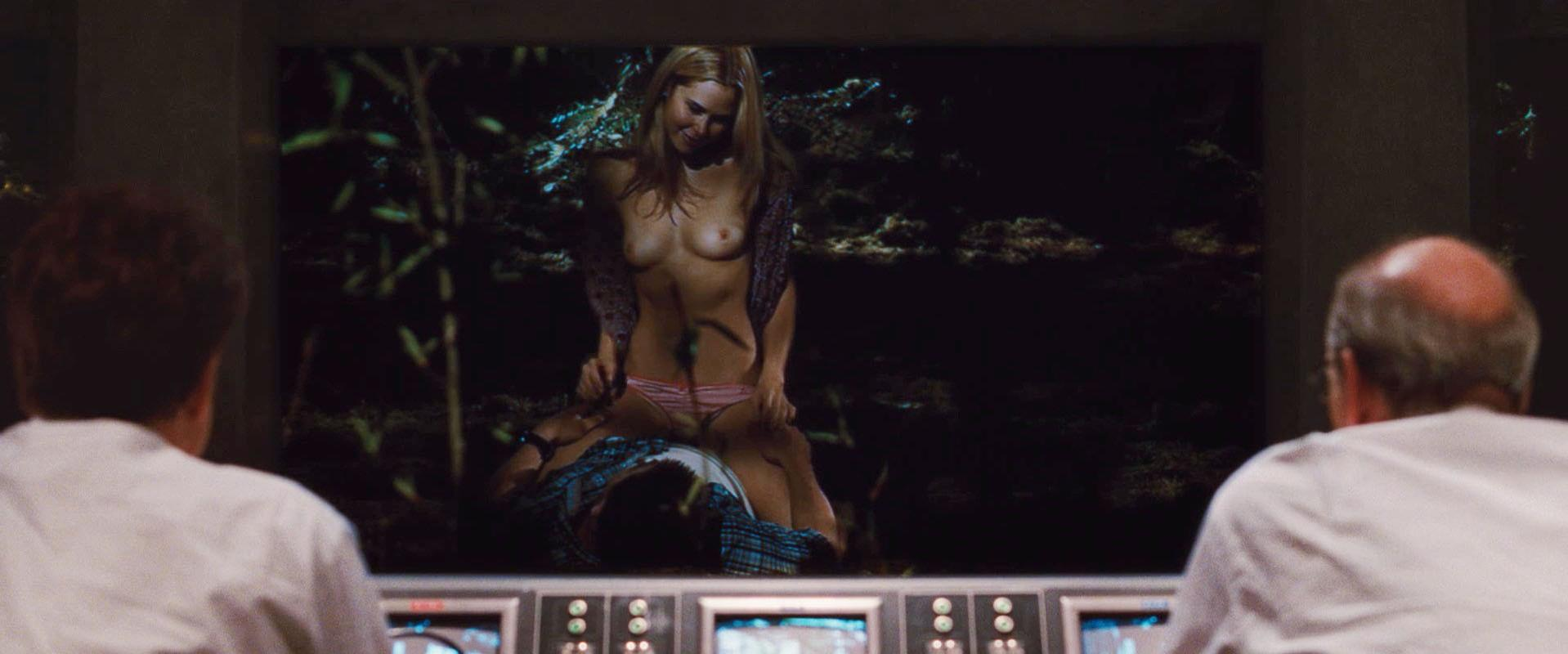 Cabin in the woods nudity