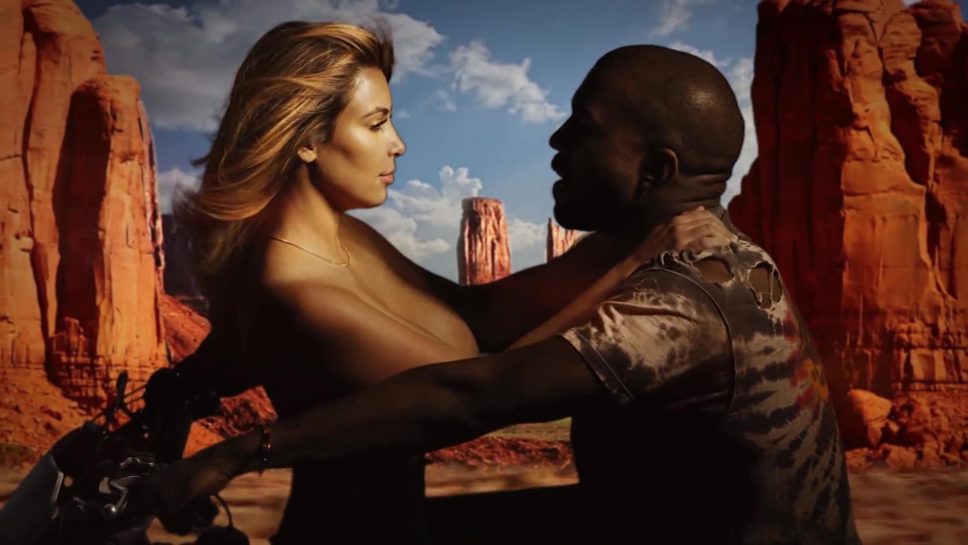 Kim Kardashian nude - Bound 2 (2013)