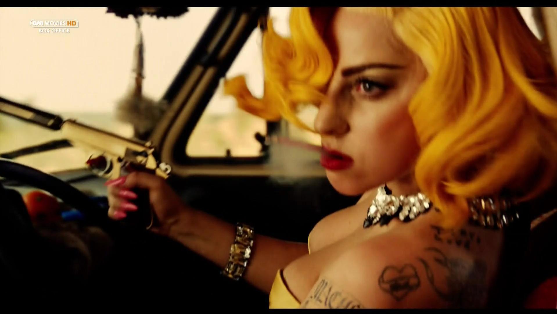 Lady Gaga sexy - Machete Kills (2013)