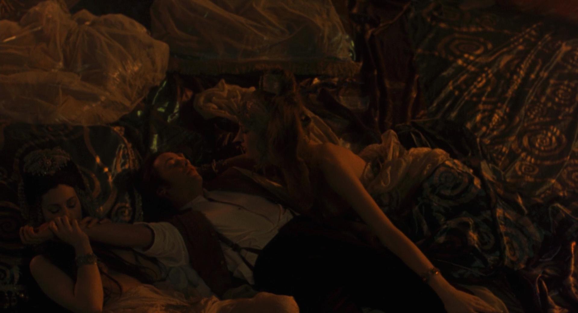 Monica Bellucci nude - underwearm Stoker's Dracula (1992)