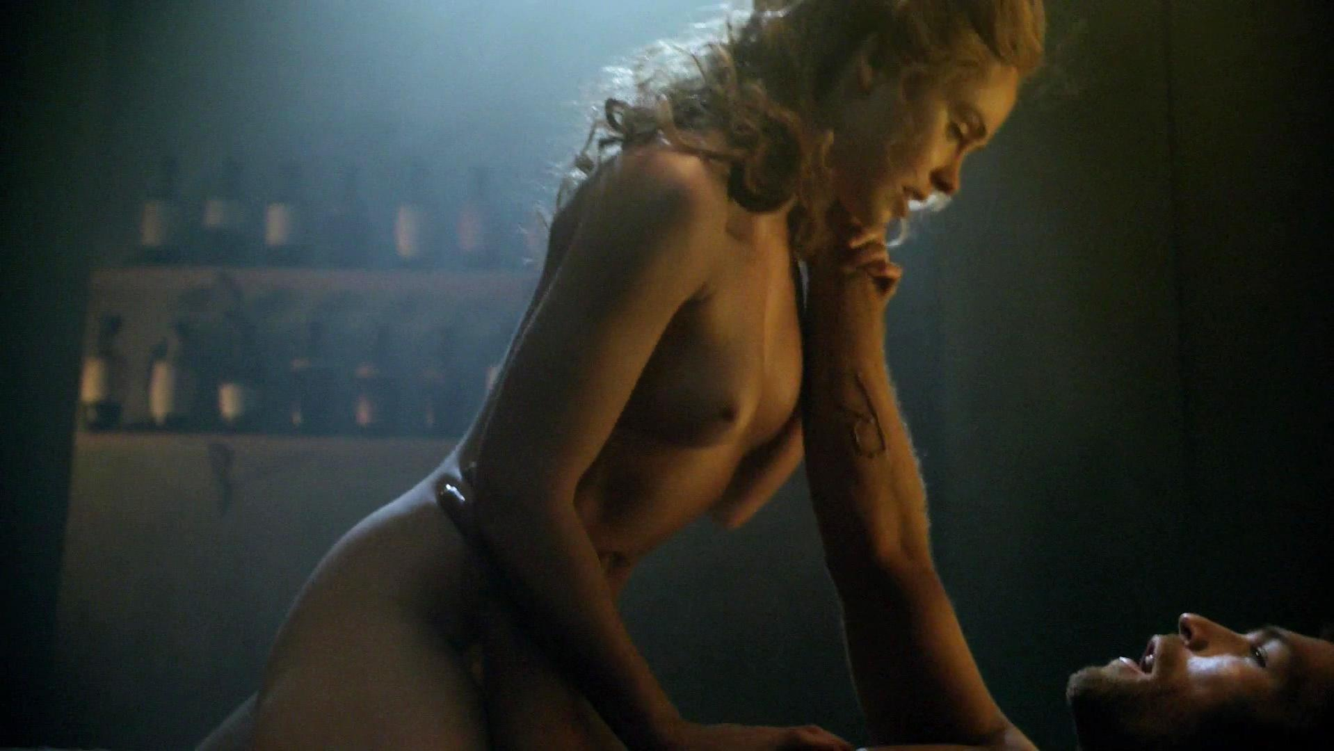 Anna hutchison spartacus s03e08 - 3 part 8