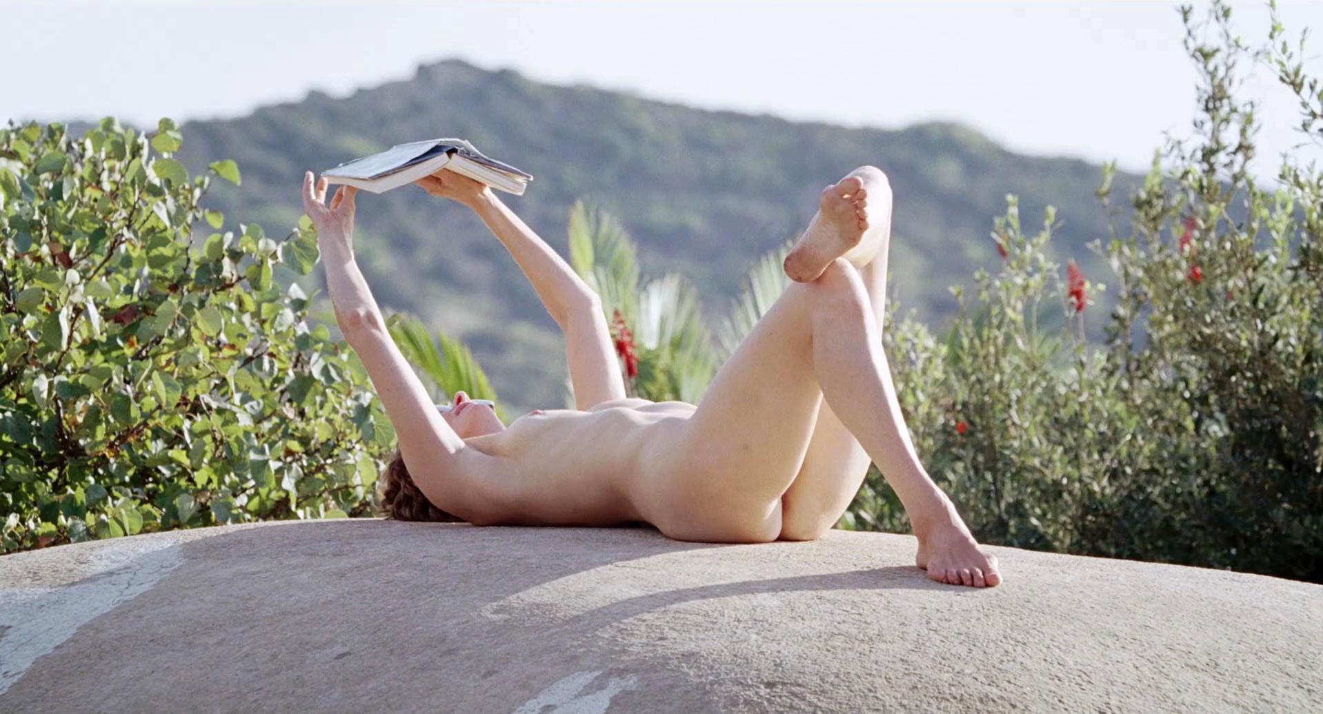 Tilda Swinton nude - A Bigger Splash (2015)