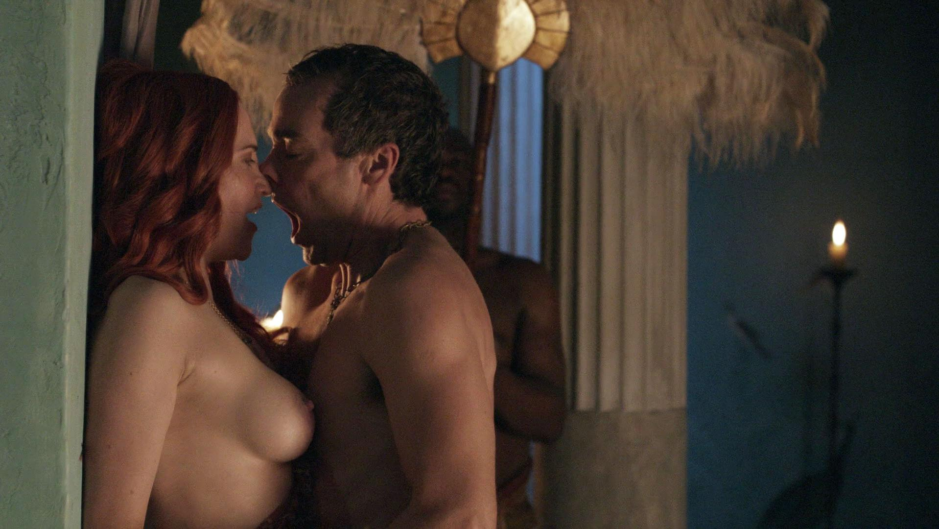 spartacus blood and sand nude