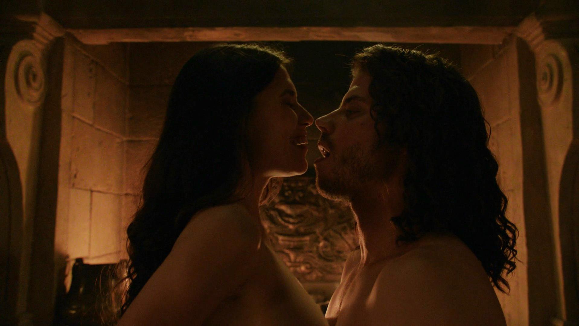 Ana Ularu nude, Melia Kreiling sexy - The Borgias s03e05 (2013)