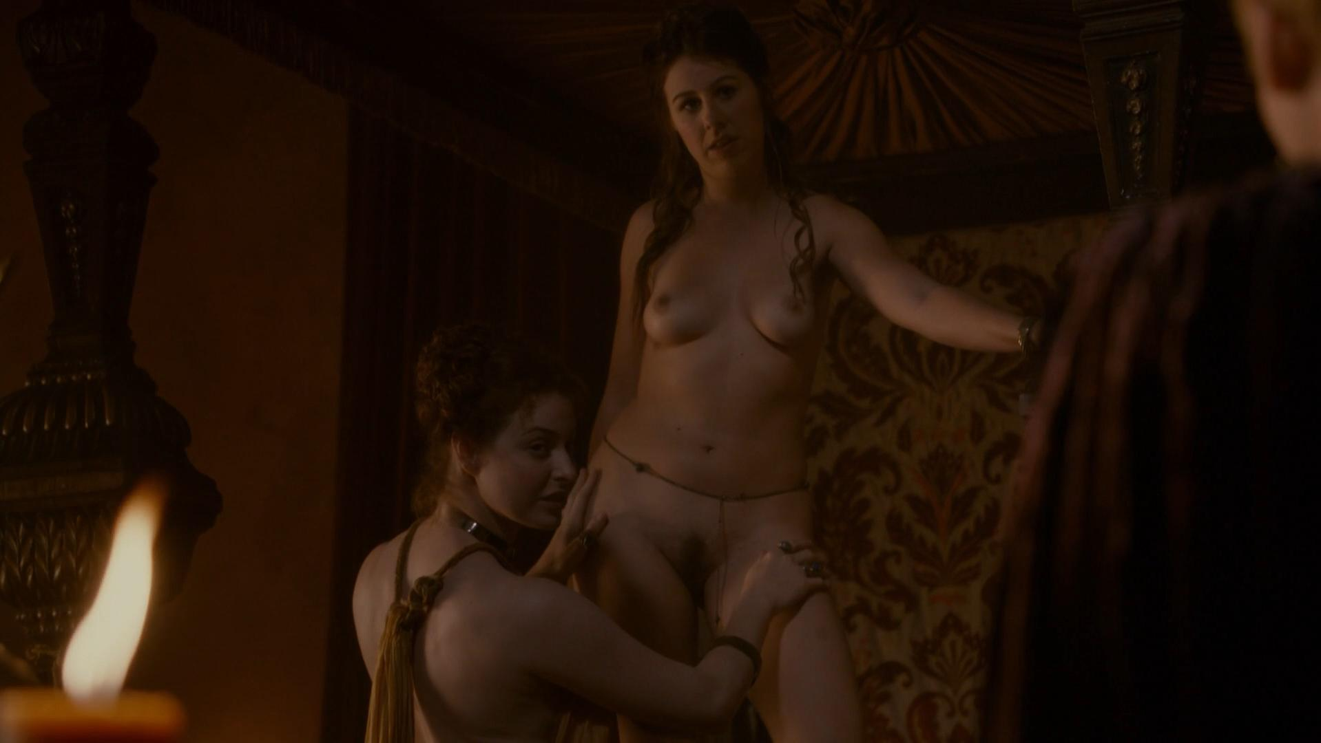 of game scenes Lesbian thrones in