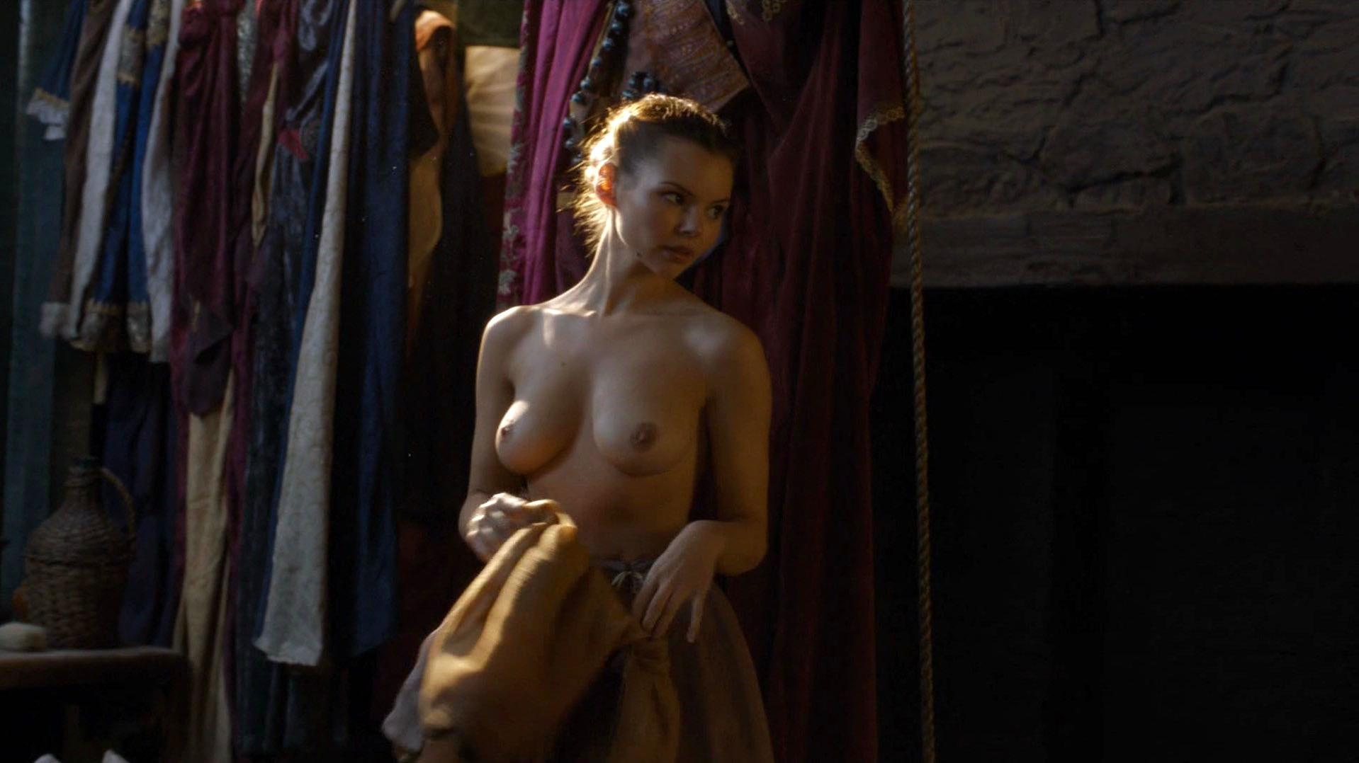 Nude Video Celebs  Eline Powell Nude - Game Of Thrones S06E05 2016-2196
