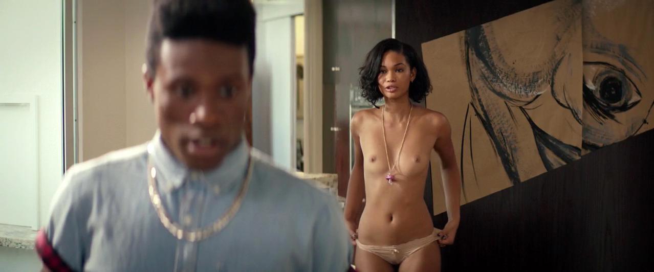 Chanel Iman nude - Dope (2015)