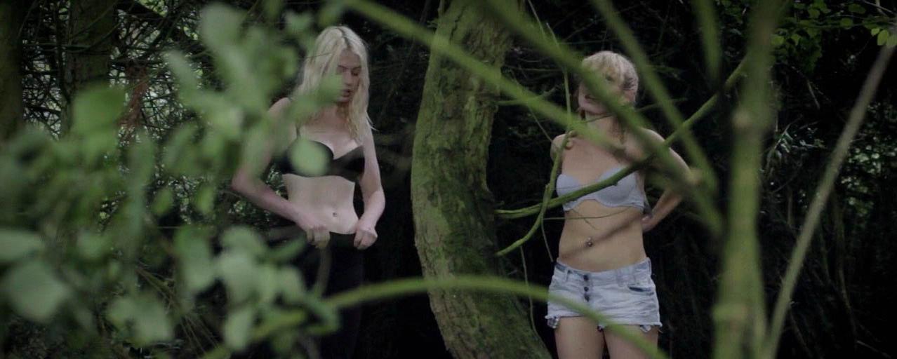 Alyssa Noble nude, Chloe Farnworth nude - Crying Wolf (2015)