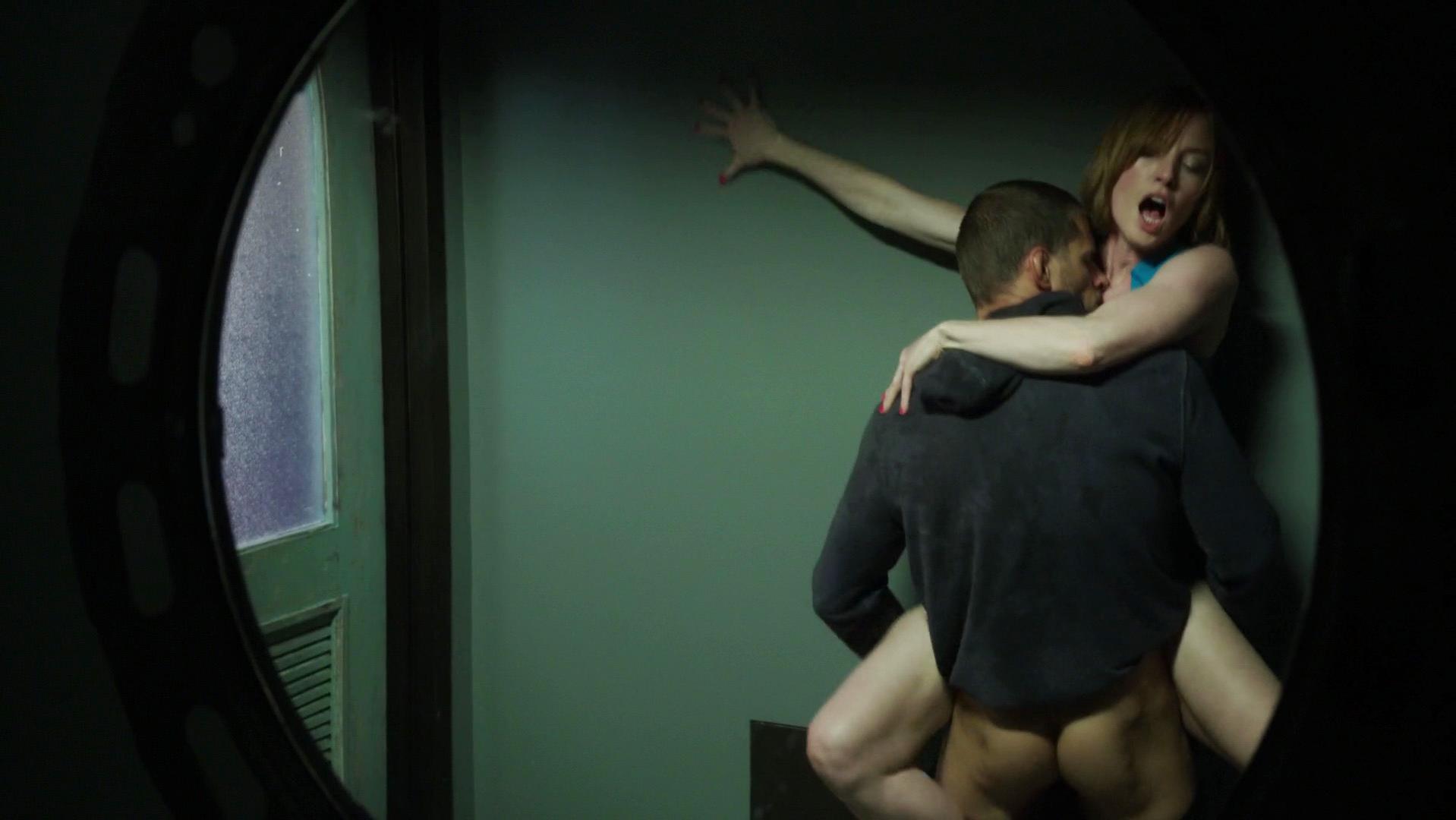 Abigail Wake nude, Alicia Witt nude - Kingdom s01e02-04 (2014)