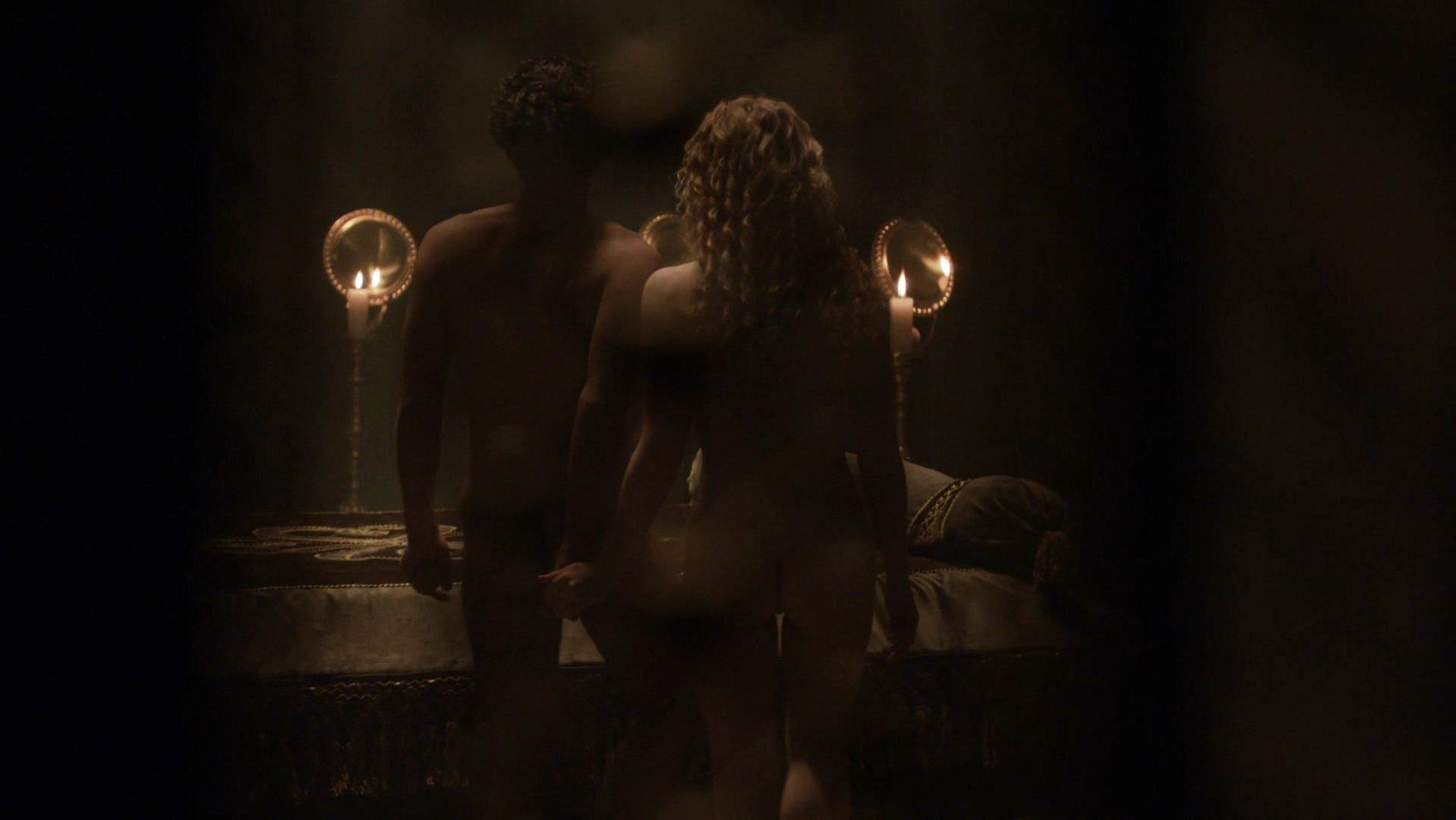 Holliday Grainger nude - The Borgias s03e04 (2013)