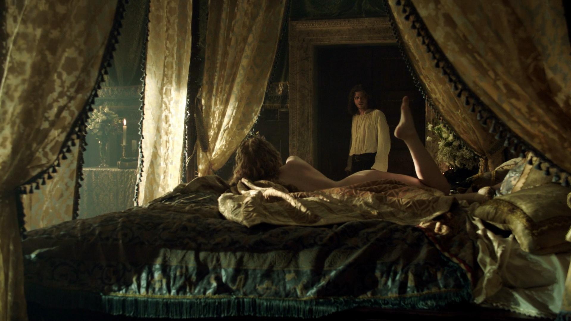 Holliday Grainger nude - The Borgias s03e02 (2013)