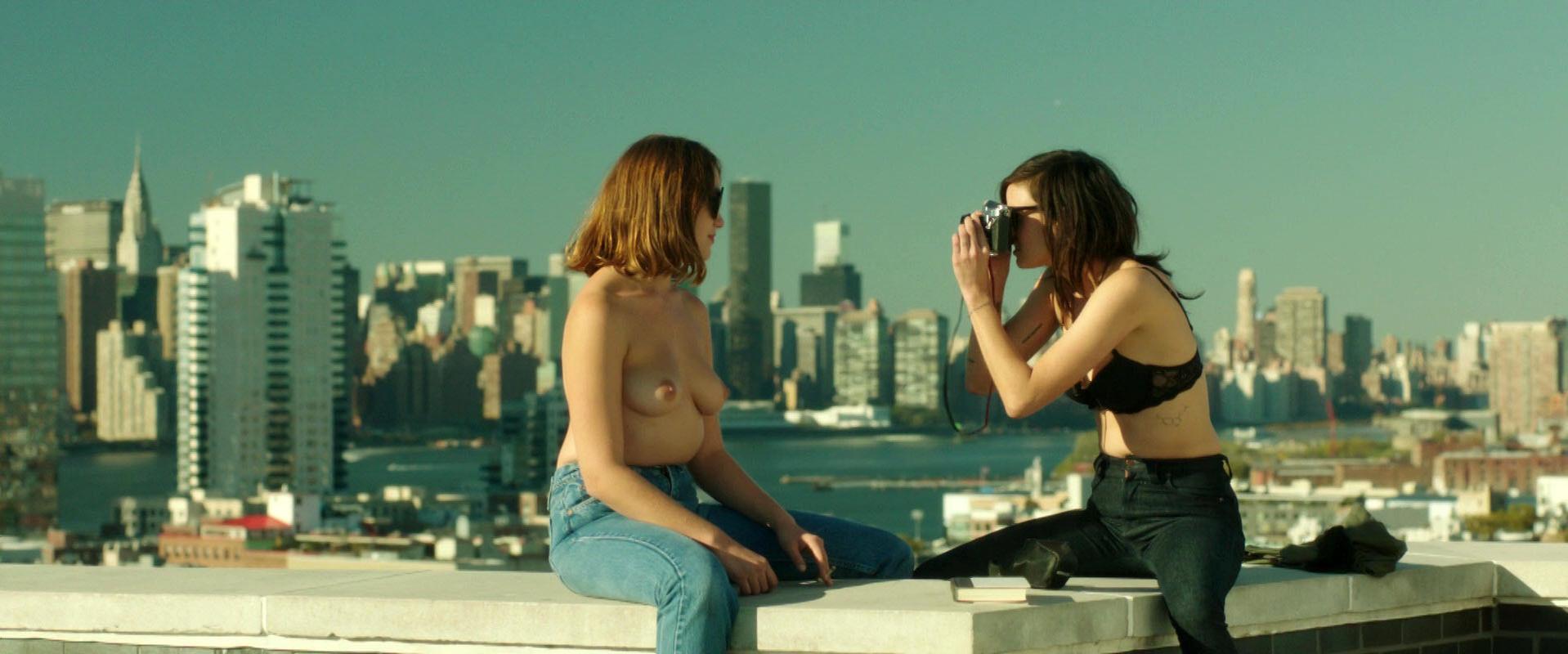 Lina Esco nude, Lola Kirke nude - Free the Nipple (2014)