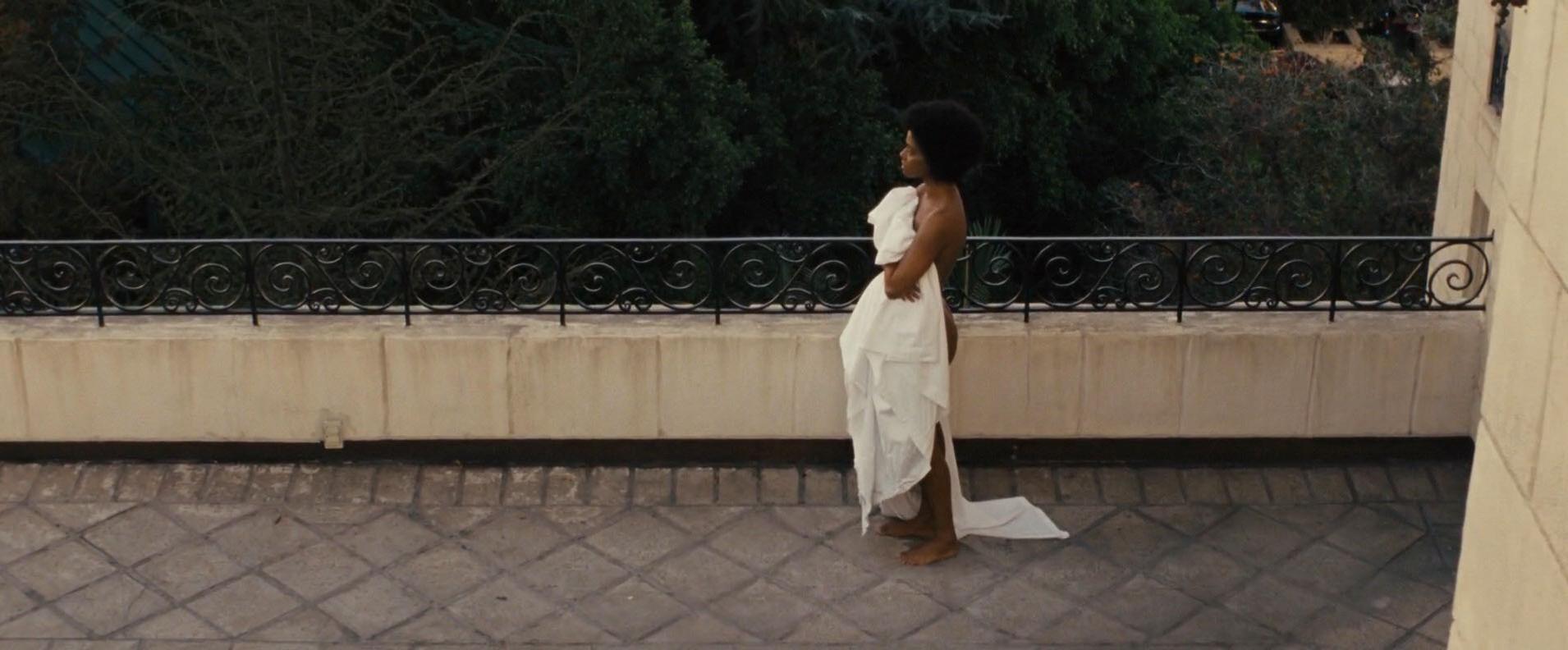 Zoe Saldana nude - Nina (2016)