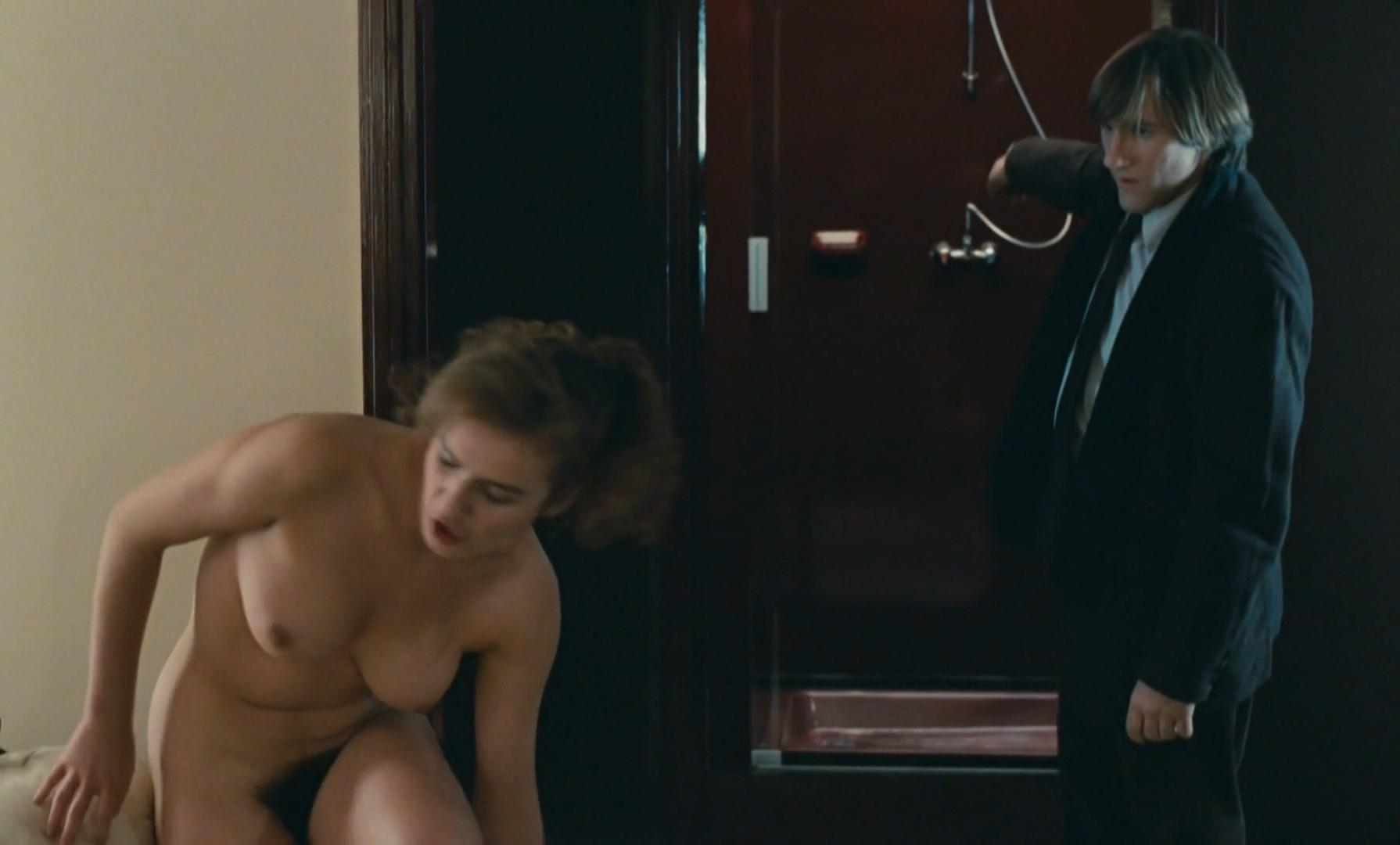 Sandrine Bonnaire nude, Sophie Marceau nude - Police (1985)
